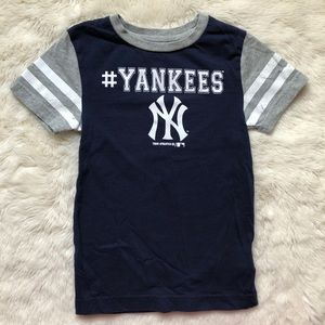 New York Yankees Blue T-Shirt Size Extra Small